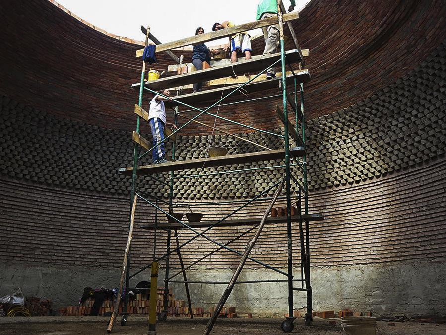 Estructuras en adobe: técnicas para la construcción de techos abovedados